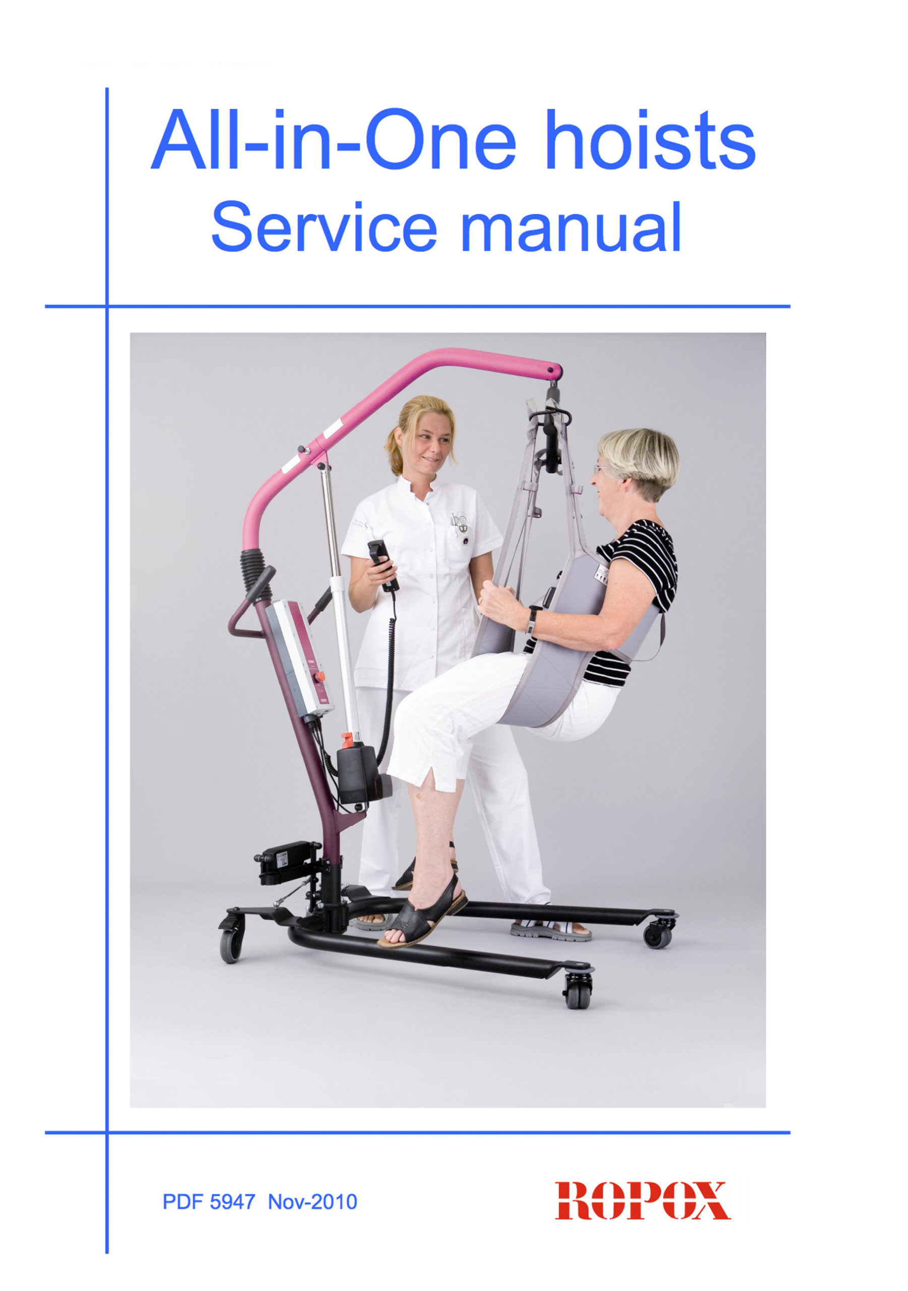 Service manual All-in-One hoists