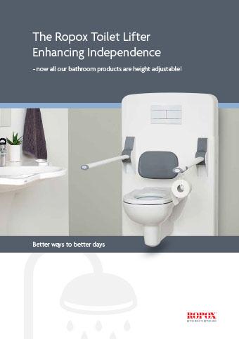 Folder Ropox Toilet Lifter Enhancing Independence